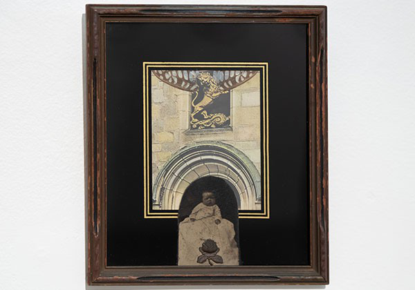 Framed artwork by Betye Saar